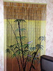штора бамбук